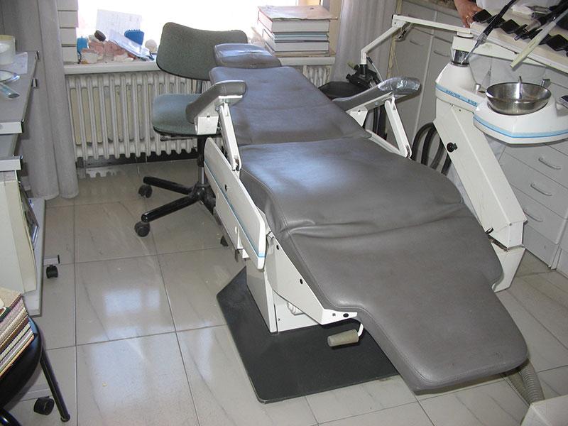 tapizado de sillon de dentista